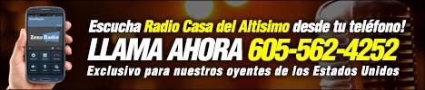 Radio Casa del Altisimo 468x100
